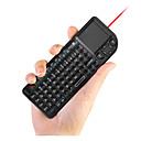 2 v 1 mini dlaně 2,4 g bezdrátová klávesnice a myš combo s touchpadem pro Google Android tv box chytrý PC