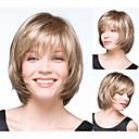 Ženska bobo frizura plavuša ravno sintetičkih perika