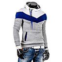 Men's Hoodie Sweats & Hoodies , Cotton / Cotton Blend Long Sleeve Casual Fashion Winter / Spring / Fall YTFT