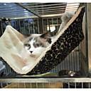 Kočka pelíšky Domácí mazlíčci deky Levhart Hnědá Terylen