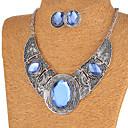 Vintage/Slatko/Zabava/Ležerne prilike - Žene - Ogrlica/Naušnica (Legure/Kubični cirkon/Drago kamenje i kristali)