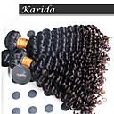3個/ロットブラジルカーリー波状毛は、安価な100%バージンブラジルの髪を染色することができます