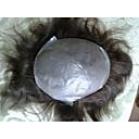 """Indijka kosa Muške hairpieces tanke kože tupe 6 """"u redu Remy ljudske kose 10"""" x8 """"frizura sustav"""