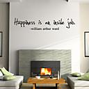 ウォールステッカーウォールステッカースタイルhappniess英単語&PVC壁のステッカーを引用