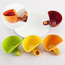 sada 4 mini clip-on koření nádoba nastavena ocet omáčka mísa kuchyně (náhodné barvy)