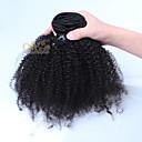 """afro výstřední kudrnaté klip v lidských prodlužování vlasů mongolian panna vlasy klip na prodlužování vlasů 10 """"-26"""""""