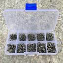 Rybářská-500 ks Stříbrná Kov / Legovaná ocel / Uhlík-M&XRybaření ve sladkých vodách / Obecné rybaření / Chytaní přívlačí a rybaření z