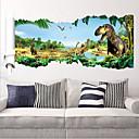 Zvířata Samolepky na zeď Samolepky na stěnu Ozdobné samolepky na zeď,PVC Materiál Snímatelné Home dekorace Lepicí obraz na stěnu