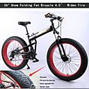Mountain Bike Biciklizam 21 Brzina 26 inča/700CC Uniseks Dvostruka disk kočnica Vilica s oprugom Stražnja suspenzija ObičanAluminijska