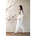 ksua® dámské jóga kalhoty kalhoty prodyšné / rychleschnoucí / antistatická bílá / modrá jóga / pilates m / L / XL