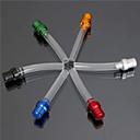 špína pitbike topný plyn víčko benzinová nádrž ventil větrání odvětrávacího potrubí hadici (náhodné barvy)