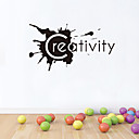 zidne naljepnice na zid naljepnice stil kreativnost engleski riječi&citati PVC zidne naljepnice