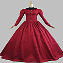 steampunk®gothic crvena građanski rat južni Belle Lolita lopta haljina haljina