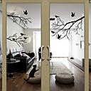 Okno samolepky Samolepky na okno Style Ptáci na stromě PVC dveří samolepky