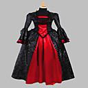 steampunk®gothic ispis srednjovjekovna haljina haljina renesansna faire kostim