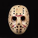 Maska Filmové a TV kostýmy Festival/Svátek Halloweenské kostýmy Hnědá / Žlutá Tisk Maska Halloween / Vánoce / Karneval / Nový rok Unisex