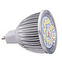 8watty MR16 16xsmd5630 650lm teplá / studená bílá barva vedl reflektory žárovky (12V)