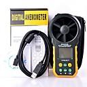 hyelec ms6252b multifunkcijski digitalni anemometar / volumen zraka / temperature uz / vlažnost