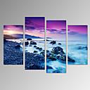 Volný čas / Krajina / Fotografie / Vlastenec / Moderní / Romantické / Cestování Na plátně Čtyři panely Připraveno k Pověste , Vertikální