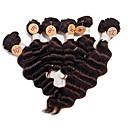 Brazilski djevica duboko val ljudske kose plete # 2 tamno smeđe top razreda duboko val kose weavings