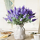 Polyester Světle modrá Umělé květiny