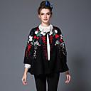 aofuli zime izvezeni vuneni ženama je u Europi visoko modne berba patchwork plus size labav zgusnuti sloj
