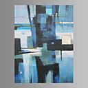 Fantazija / Whimsical / Moderna / Pop art Canvas Print Jedna ploča Spremni za objesiti , Vertikalno