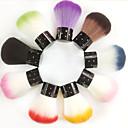 2ks umělých vlasů nail art štětcem zajiskřilo (náhodné barvy)