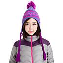 牧野女性のニット帽子暖かいビーニースノーボード冬の雪の帽子0113