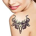 Vánoce / Nový rok řady živočišných Sheepshead roh velikost vzorku 22 * 16 * 0.1cm tetování samolepky dočasné tetování (1ks)