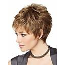 Atraktivní hnědé módní dámské krátké paruku