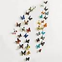 Životinje / Romantika / Pejzaž / 3D Zid Naljepnice 3D zidne naljepnice , PVC 2 Pcs*22*30 cm(8.6*11.8 in)