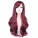 dámy levné lolita paruka kudrnaté vlasy žáruvzdorné stín syntetická plné krajka paruka vínové paruky