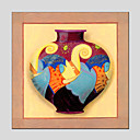 Ručno oslikana Mrtva prirodaModerna / Europska Style Jedna ploha Platno Hang oslikana uljanim bojama For Početna Dekoracija