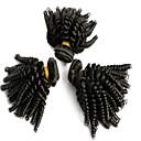 Ljudske kose plete Brazilska kosa Valovita kosa 3 komada kosa isprepliće