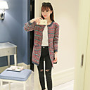 WOMEN - カジュアル - セーター ( コットンブレンド ラウンド - 長袖