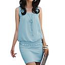 Dámské elegantní bavlněné Bodycon OL módního oblečení