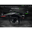Dron Zero Xplorer V 4Kanály 3 Osy 5.8G S 1080P HD kamerou RC kvadrikoptéraFPV / Jedno Tlačítko Pro Návrat / Auto-Vzlet / Upside-Down