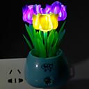 uštedu energije doveli u boji ruža svjetlo-operiran način noćno svjetlo žarulje