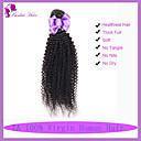マレーシアの処女変態縮毛1PCSたくさんの毛は未処理の人間のバージンヘアエクステンション変態カーリーをバンドル