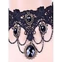 Ogrlice Choker oglice Gotička Nakit Tattoo choker Jewelry Vjenčanje Party Halloween Dnevno Kauzalni Stil tetovaže Moda Čipka 1pc Poklon