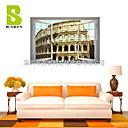 Arhitektura / Romantika / Mrtva priroda / Pejzaž / Slobodno vrijeme Zid Naljepnice 3D zidne naljepnice , PVC