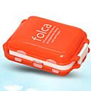 Cestování Cestovní pouzdro na léky Nouzové doplňky Plast
