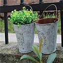 dělat retro metal flower svatební dekorace váza na květiny bytový barel buben