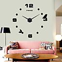 壁時計 - ステンレス鋼 - カジュアル - ステンレス鋼