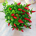 高品質の唐辛子の花ホームデコレーション1個/セットのシルクフラワーシルクフラワー造花