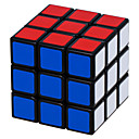 Shengshou® スムーズなスピードキューブ 3*3*3 スピード マジックキューブ 黒フェード / アイボリー スムーズステッカー Feng アンチポップ / アジャスタブル春 ABS