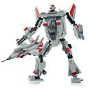 mjerilu transformator robota izgrađeni aviona 2 u 1 plastičnom modelu igračka robot 3d Playmobil igračke