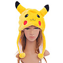 Hat/Cap Inspirirana Pocket Monster PIKA PIKA Anime / Video Igre Cosplay Pribor Šešir Crna / Crvena / Žuta Polyester Male / Female