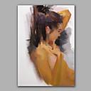 手描きの ヌードModern 1枚 キャンバス ハング塗装油絵 For ホームデコレーション